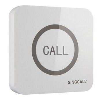 SINGCALL. беспроводной звонок, супер большой осязаемый одной кнопки с Водонепроницаемый Функция, APE520