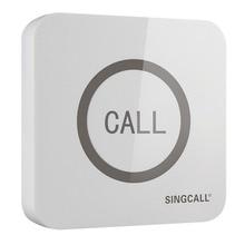 Singcall Wireless Call Bell,Super Grote Tastbaar Enkele Knop Met Waterdichte Functie, APE520