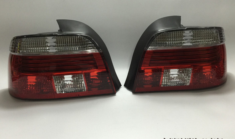 RQXR LED feu arrière + feu de frein + clignotant feu de pare-chocs arrière réflecteur pour BMW série 5 E39 520i 523i 525i 528i 530i 540i