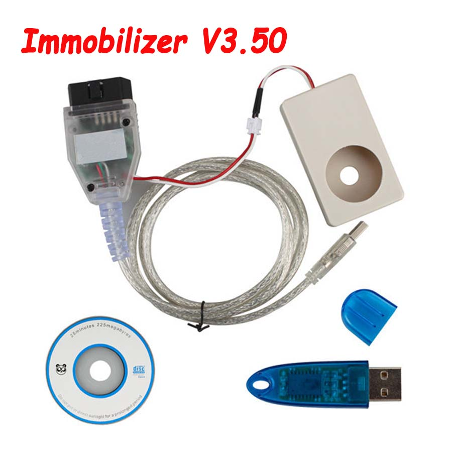 IMMO Tool Immobilizer V3.50 For Opel+ for Fiat Cars Programming of New Key by OBD2 Interface Also Program ECU Immo Read Pin Code