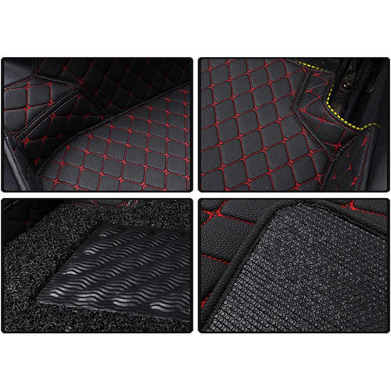 KOKOLOLEE Personnalisé tapis de sol de voiture pour Volvo C30 S40 S60 S60L S80 S80L V40 V60 XC60 XC90 XC60 C70 auto accessoires de voiture-style