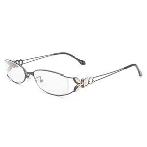 Image 1 - Gafas con montura completa de aleación para mujer, gafas de marca graduadas, a la moda, para mujer