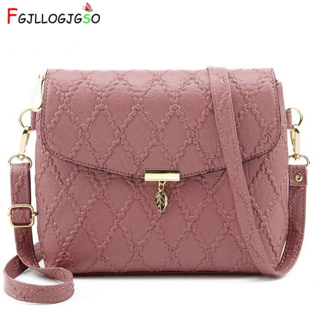 0b17cea6b6 US $8.84 58% OFF Aliexpress.com : Buy FGJLLOGJGSO NEW Small Handbags women  leather Shoulder mini bag Messenger Crossbody bag Sac a Main Femme Long ...