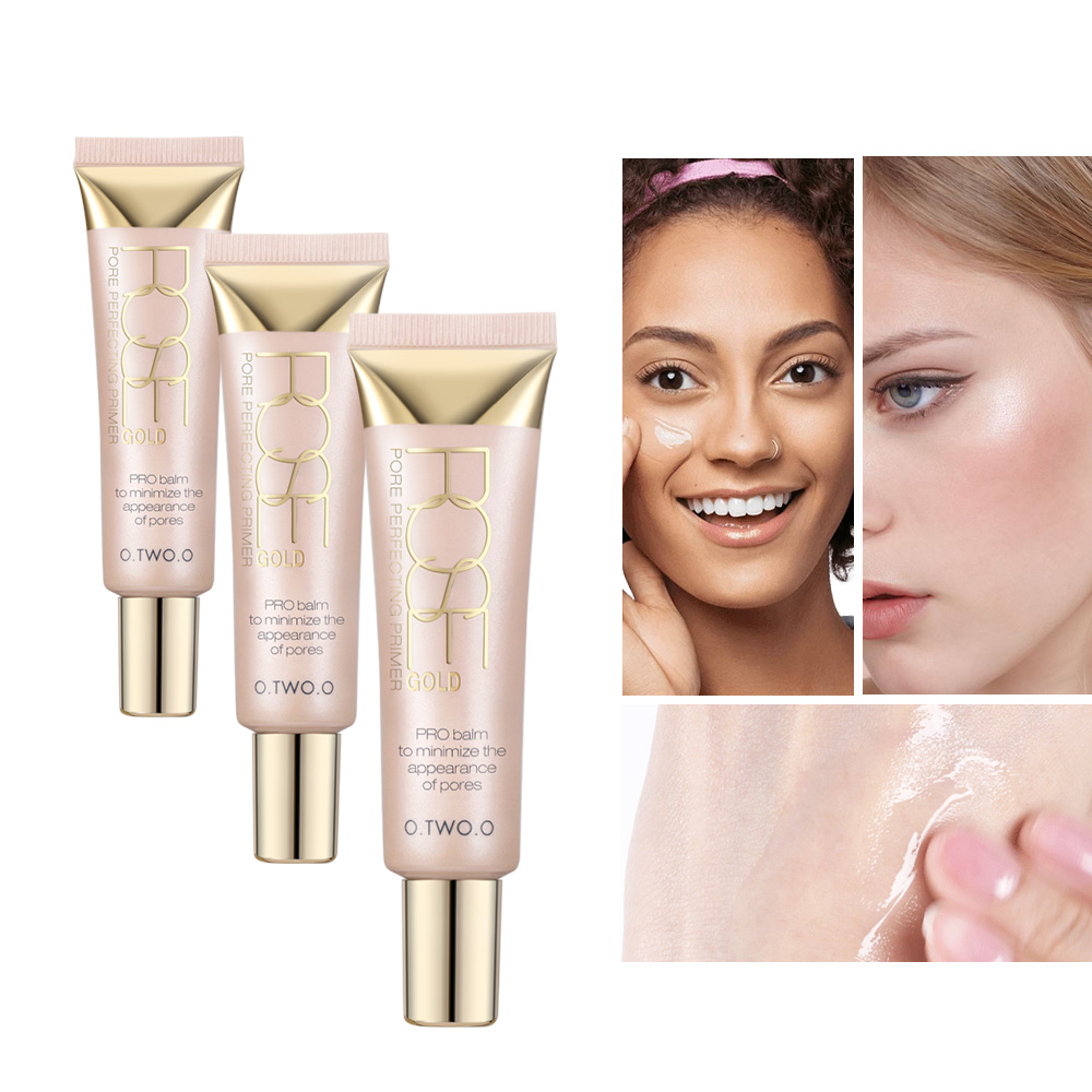 O.TWO.O Professional Primer Makeup Base Concealer Iluminator Glow Kit - Machiaj