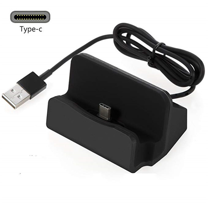 Type-C Dock Desktop Charger Station For Bluboo S3 S1 S8 Plus BQ Aquaris C  X2 X Pro Cat S61 Dock Desktop