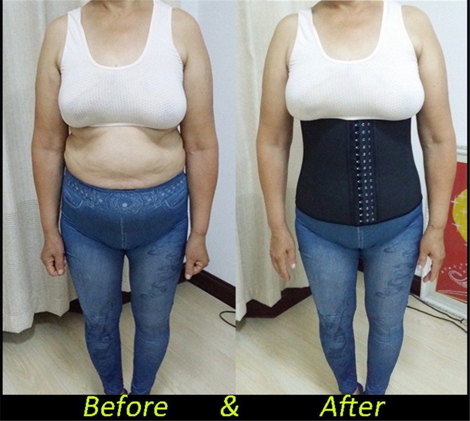 The Ultimate Waist Trainer Before After