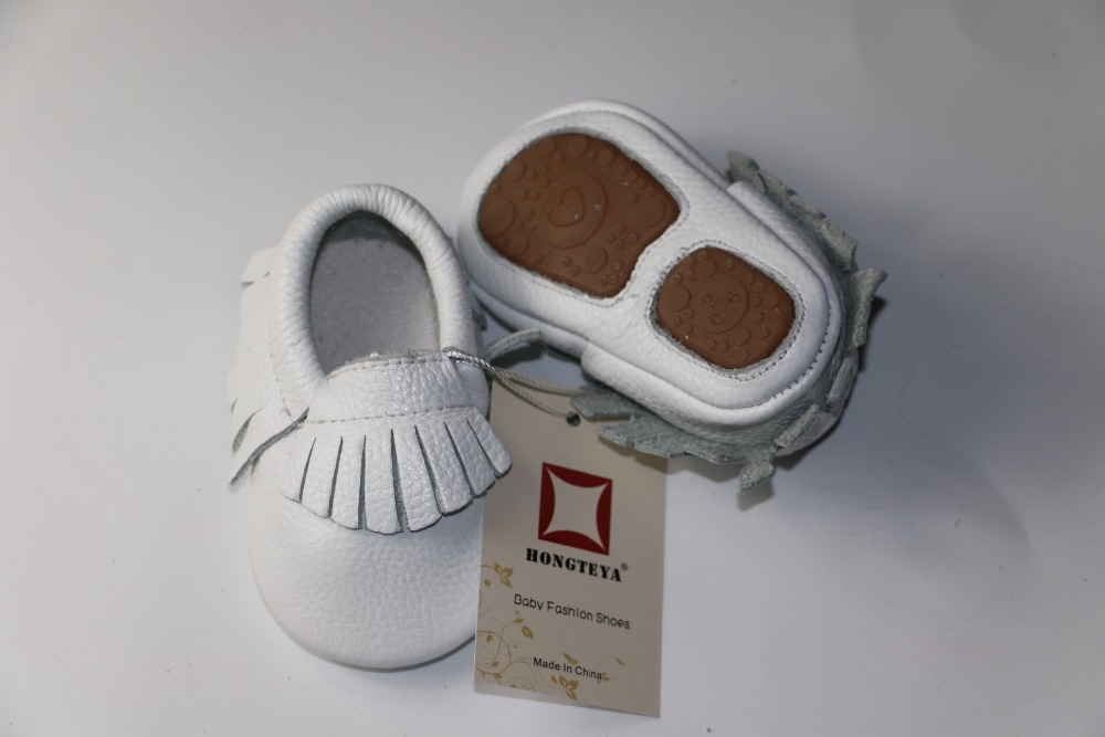 Hongteya-New-hot-sale-Solid-Genuine-Leather-Girl-Boys-handmade-Toddler-hard-sole-first-walkers-baby-leather-Shoes-20-colors-5