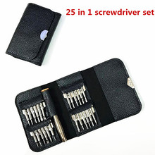 Screwdriver 25 In One Leather Screwdriver Combination Set Apple Mobile