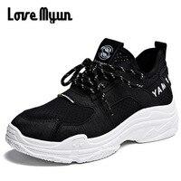 High Quality Women Pu Fashion Lady Vulcanized Shoes Comfortable Casual Shoes Tenis Feminino Wedges Flats Platform