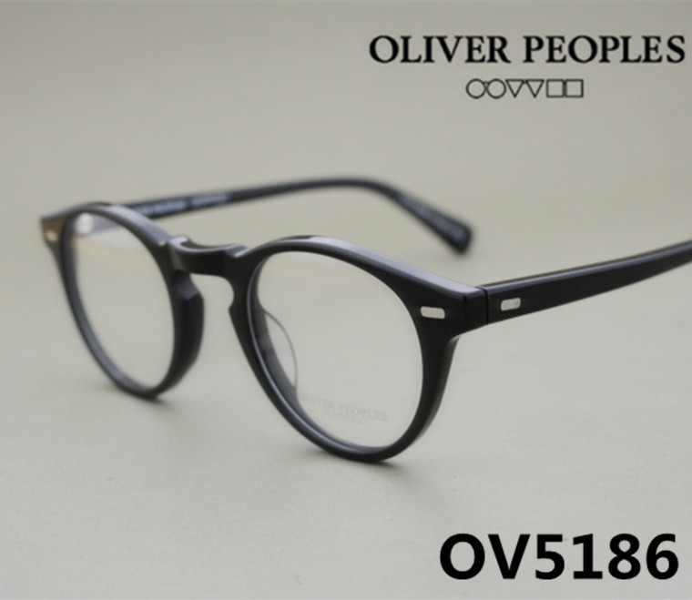 60835839bfa Vintage optical glasses frame oliver peoples ov5186 eyeglasses Gregory peck  ov 5186 eyeglasses for women and men eyewear frames-in Eyewear Frames from  Men s ...