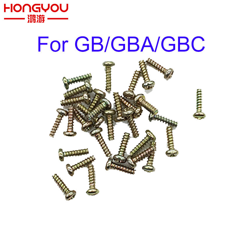 20PCS Replacement For Gameboy Y Tri Wing Screw For GB GBA GBC Game Console Shell Case Triangle Screws