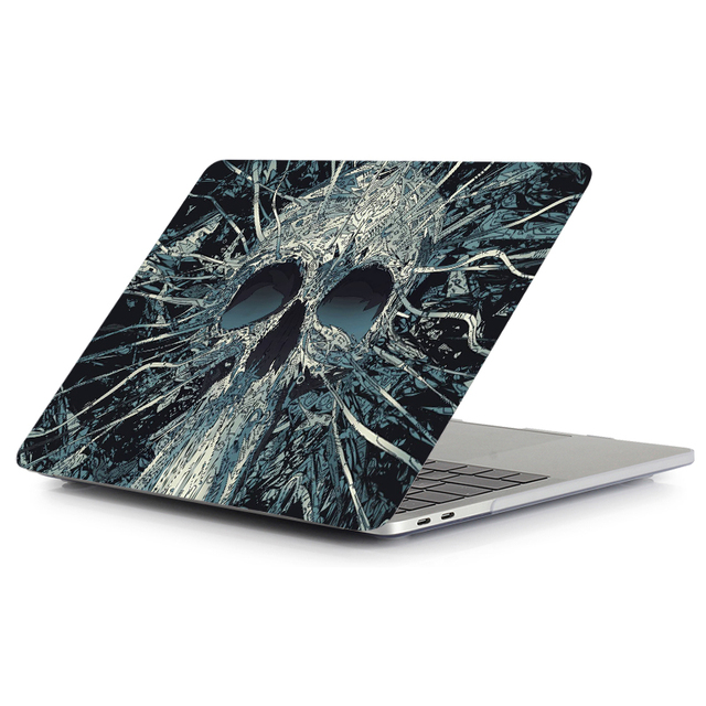 Skull Touch Case for MacBook 3