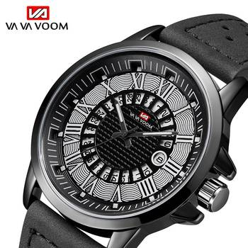 Kol Saati Erkek VA VA VOOM Fashion Watch Men Casual Military Sport Men's Watch Quartz Analog Wristwatch Relogio Masculino