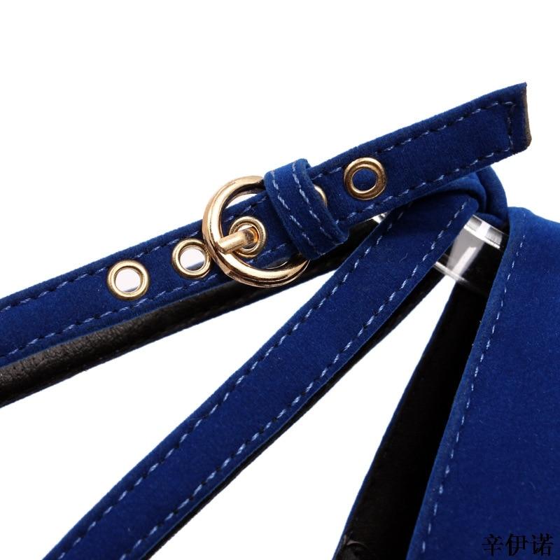 Tacón Envío Zapatos De El Negros Tobillo Negro Alto Con Tallas Tacones azul Directo 35 Alto rojo Para Cm Correa 42 11 Mujer Fiesta Grandes wH4qtt