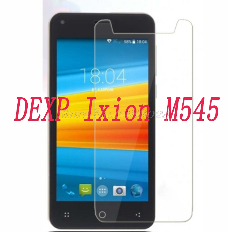 Smartphone 9H Tempered Glass  for DEXP Ixion M545 4.5  Explosion-proof Protective Film Screen Protector cover phone