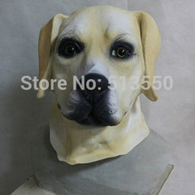 Popular Latex Animal  Dog Mask Realistic Funny Labrador