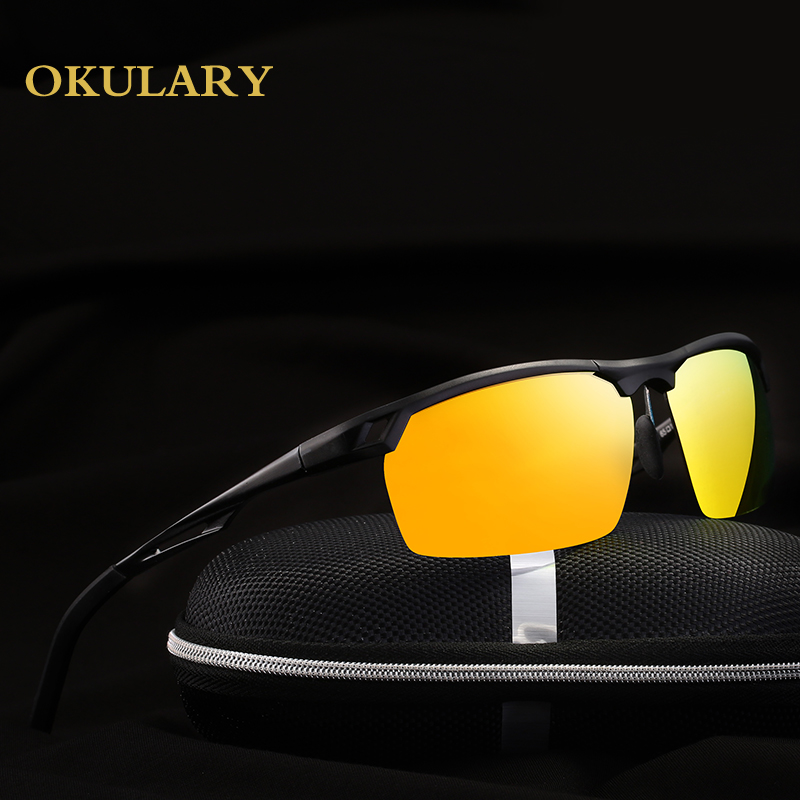 2018 Men Light Polaroid Sunglasses 4 Color UV400 Free Shipping