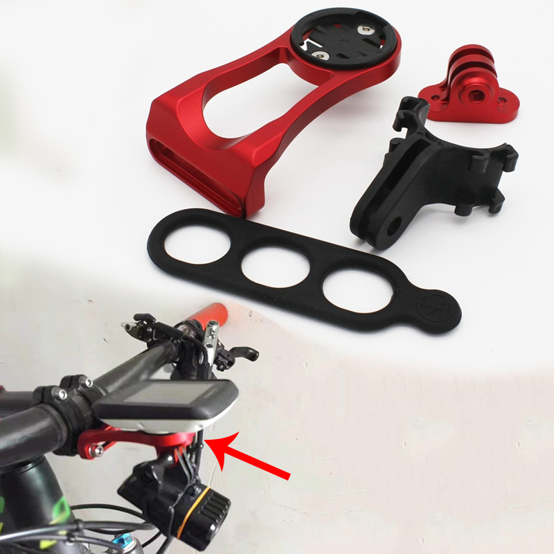 MTB Bicycle Bike Cycling Stem Expansion Rack Frame Alloy Code Table Holder +Camera Transfer Frame+Lampholders Bicycle Accessorie