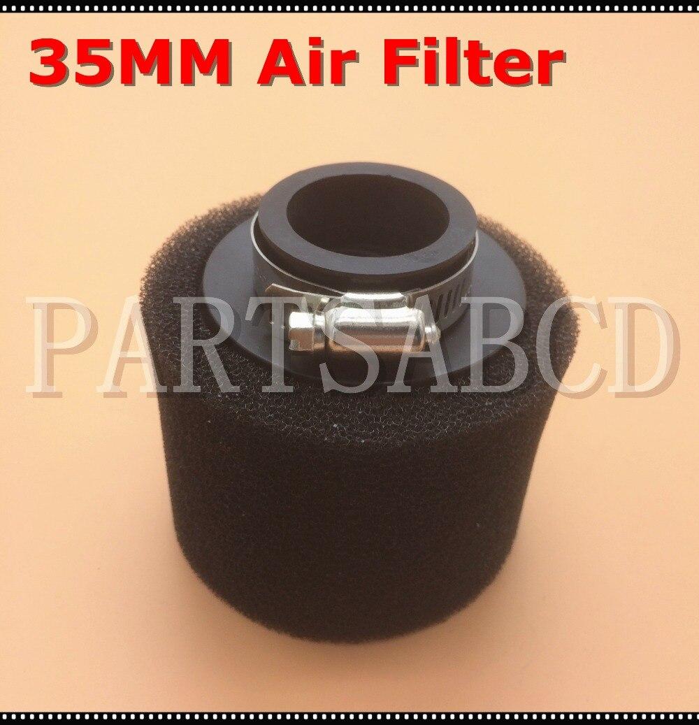 35mm Air Filter 50CC 70CC 90CC 110CC PZ19 CARBURETOR Air Filter ATV Dirt bike