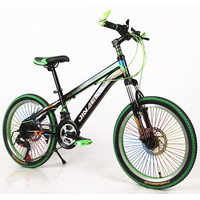 20 Inch Mountain Bike Two Disc Brake 21 Speed Children Boys And Girls Students Bicycles Outdoor