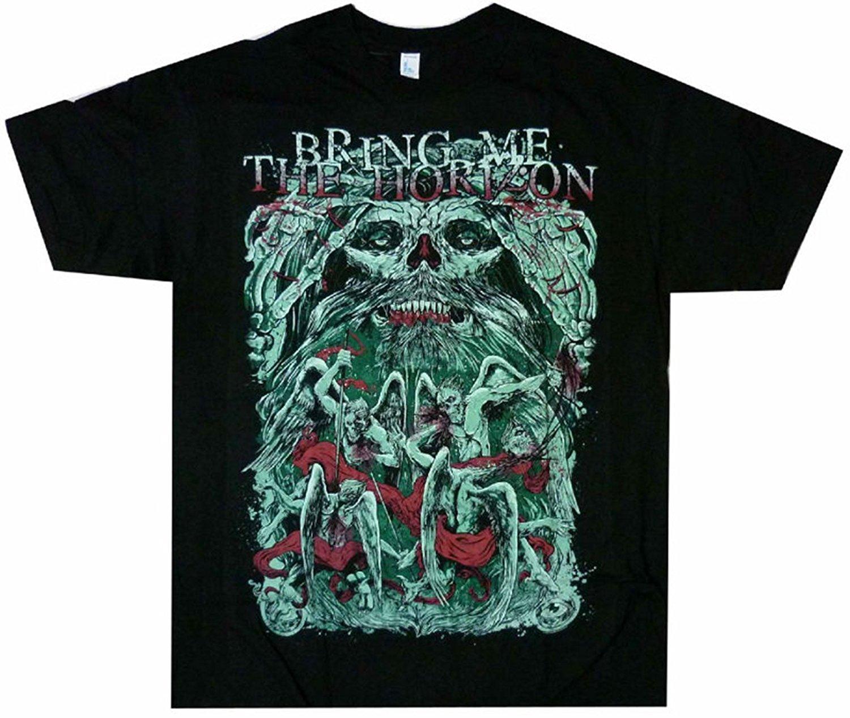 Good quality black t shirt - Casual T Shirt Good Quality Bring Me The Horizon Belanger Men S T Shirt O