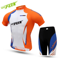 BATFOX Cycling Men S Set Summer Short Sleeve Breathable Quick Dry Men Sports Bicycle Wear Bike