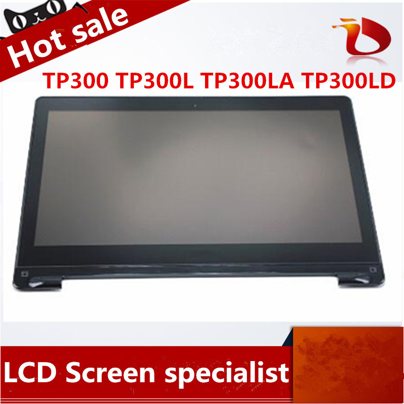 Original 13.3'' LCD Touch Screen Digitizer+Bezel Display Laptop For Asus Transformer Book TP300 TP300L TP300LA TP300LD-DW067 black full lcd display touch screen digitizer replacement for asus transformer book t100h free shipping