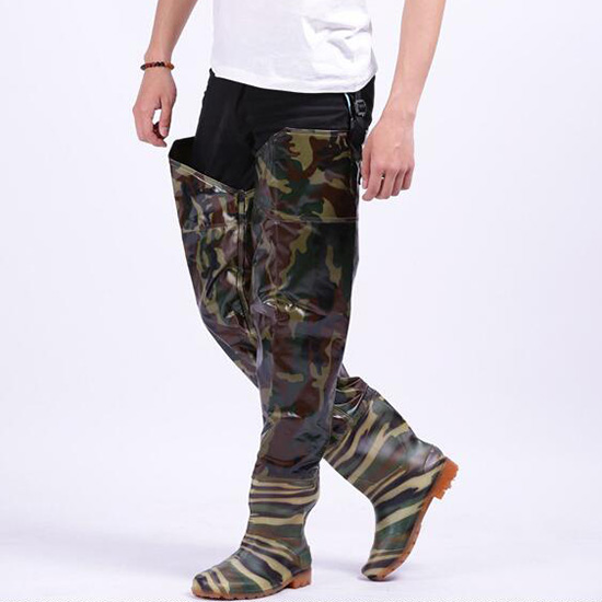 Camo chest waders promotion shop for promotional camo for Fishing waders with boots