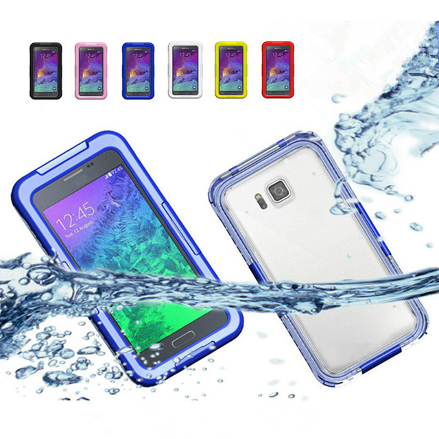 promo code f061b 09cd6 US $11.33  Note 5 Case Heavy Duty Waterproof Case for Samsung Galaxy Note 5  Underwater Phone Bags Swimming Diving Protect Water Proof Cover on ...
