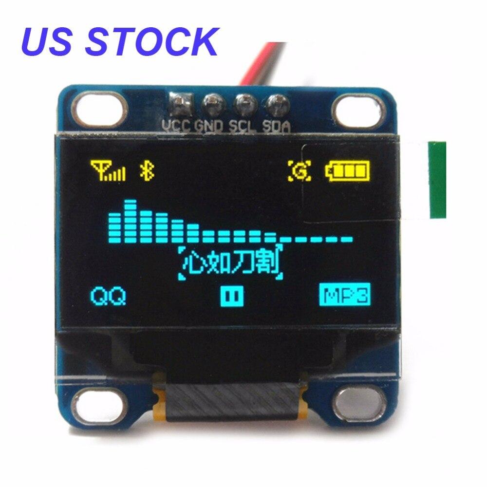 """Képtalálat a következőre: """"0.95 inch 7pin Full Color 65K Color ssd1331 OLED Display 3.3v 5v Serial SPI Small LCM Module for 51"""""""
