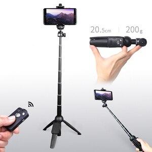 Image 2 - Yunteng אלחוטי Selfie מקל חצובה חדרגל עם Bluetooth מרחוק תריס אוניברסלי עבור iPhone XS X 7 בתוספת Xiaomi טלפונים חכמים