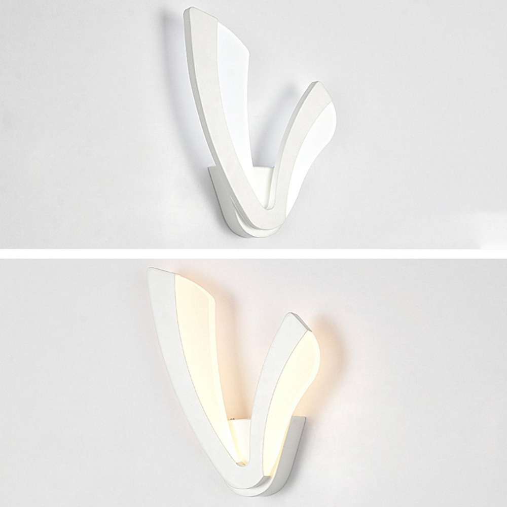 Simple V Shape Acrylic Wall Light Led Indoor Wall Lamps Led Wall Sconce Lamp Lights for Bedroom Living Room StairSimple V Shape Acrylic Wall Light Led Indoor Wall Lamps Led Wall Sconce Lamp Lights for Bedroom Living Room Stair