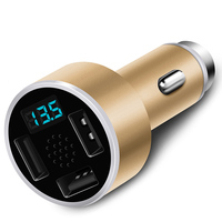 3 In 1 Aluminium 3 USB Car Charger 5V 3 1A Emergency Hammer Fatigue Driving Voice