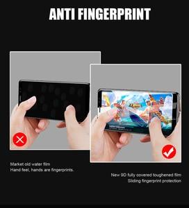 Image 4 - 9D Full CoverกระจกนิรภัยสำหรับOPPO A59 F1S F3 Plus R11 R11S Plus F5 F7 A1 A1K A7 V15 a9 F9 Pro Screen Protectorฟิล์มด้านหน้า