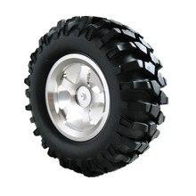 "4 Unids/set 1.9 ""1/10 rc crawler neumáticos ruedas llantas de aleación 12mm hex hub para eléctrico hsp pangolín escalada car 94180"