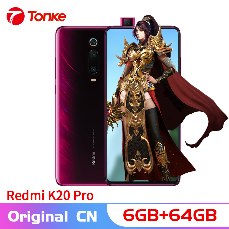 Rom originale Xiaomi Redmi K20 Pro 6GB RAM 64GB ROM Snapdragon 855 Octa Core 6.39