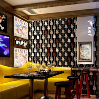 KTV Behang 3d Stereo Persoonlijkheid Mode Flash Muur Doek Bar Hotel Fancy Ball Kamer Box Thema Behang