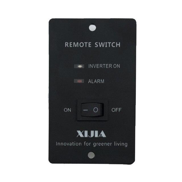 1500W pure sine wave solar power inverter DC 12V 24V 48V  to AC 110V 220V with remote control 5