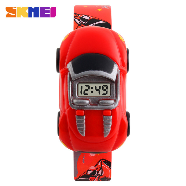 SKMEI Children Student Watch Car Kids Watches Boys Girls Clock Child Digital Wristwatch Electronic Wrist Watch For Boy Girl 1241