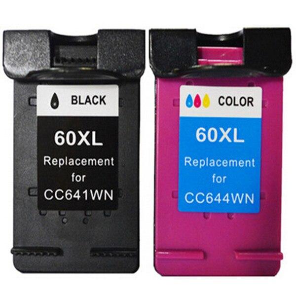 Hisaint совместимый для hp 60 картридж для hp Deskjet F4235 F4240 F4260 F4280 F4435 F4440 F4480 F4580 чернильным принтер