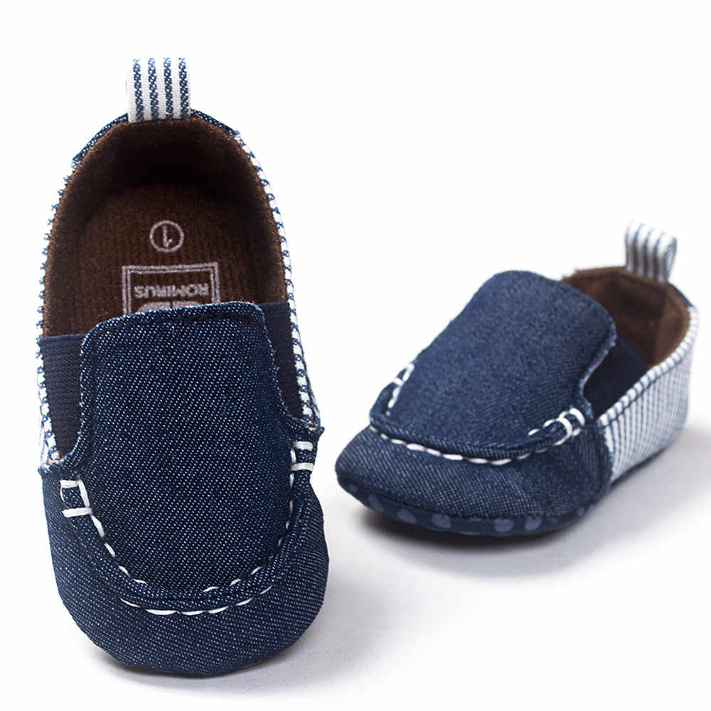 MUQGEW New arrival   ROMIRUS Baby Toddler Soft Sole Leather Shoes Infant Boy Girl Toddler Shoes  2019