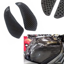 цены Rubber Traction Pad Gas Tank Grip Protector for 2010-2013 Kawasaki Z1000