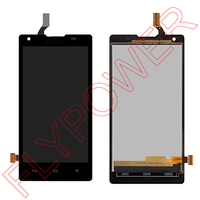 For Huawei Ascend G700 Lcd Display Screen With Black Touch Screen Digitizer Assembly By Free Shipping