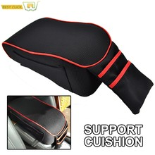 Universal Center Centre Console Armrest Car Styling Pad Soft Cover Arm Rest Protective Case(China)