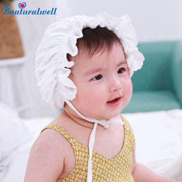 Bnaturalwell Baby Mädchen Vintage Stil Hut Baumwolle Motorhaube ...
