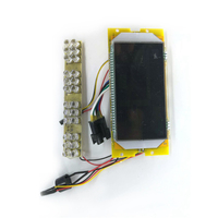 Liquid Crystal Display for KUGOO S2 Electric Scooter Replacement 36V LCD Display Panel Universal Electric Scooter Repair Parts