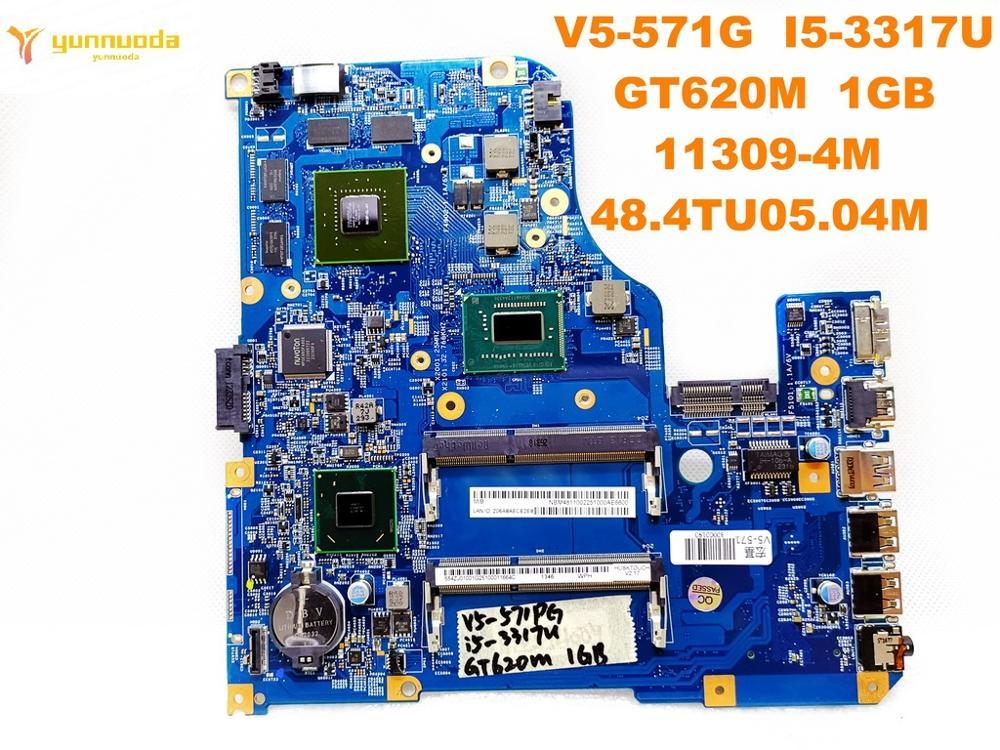 Original for font b ACER b font V5 571G laptop motherboard V5 571G I5 3317U GT620M