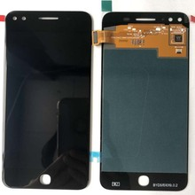 5.0 Touch Screen Digitizer Glass + LCD Display Assembly For Alcatel X1 7053D; New ; Black 100% Tested ; Tracking