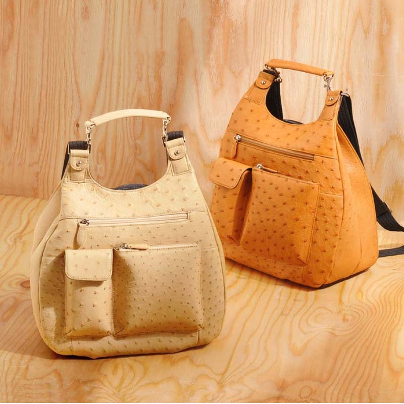 mengzhongmeng Ostrich leather single shoulder women handbag ostrich leather handbag lady backpack купить