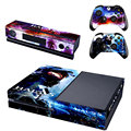 New HALO 5 Cover Decal Vinyl Cover Skin Sticker For Xbox one & Kinect & 2 Controller Skins